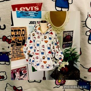Rare collab - Levi's x Hello Kitty Hoodie Size L